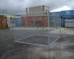 chain link fence kennel