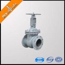 Industy water oil gas gate valve cast steel flanged gate valve DN150 PN16 PN25 PN40 PN63