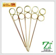 eco-friendly barbecue for star hotel decorative glitter floral picks in all sizes