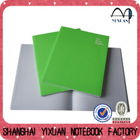 OEM four lined paper line notebook