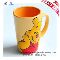 Hot New Products for 2015 Cheap Animal Shaped Coffee Mug with Bear Design for Promotion