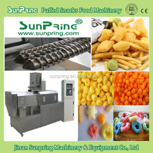 Good Quality150kg Per Hour Corn puffs, Cheese Ball, Corn Snacks Making Machine For Sale, snacks production line