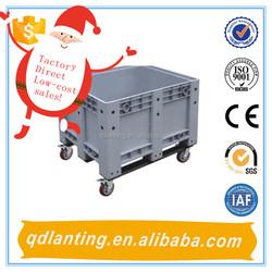 fruit and vegetable storage plastic Jumbo bin/plastic pallet bin made in China