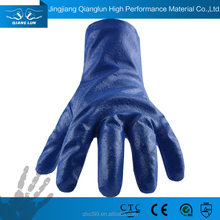 QL pvc coated gloves long sleeve hand protecting gloves