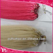 Droite soyeuse remy cheveux fish line extensions de cheveux