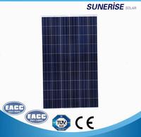 High Efficieny 280watt solar panel price for home use