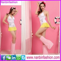 Nanbinfashion cat animal cosplay costume for women