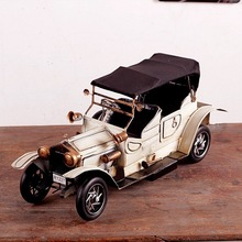 "Vintage Looking Antique 16"" Handcrafted vehicle Car Model jalopy"
