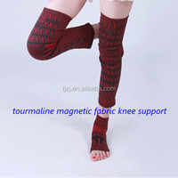 Comfortable health care magnetic fiber leg support