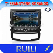 Fashionable Car DVD Player with 3DUI/BT/RDS/IPOD