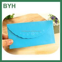 Art paper debossing paper envelope for gift ,handmade paper envelopes,paper a5 envelope