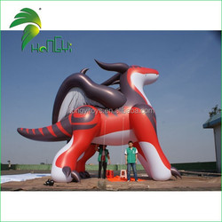 The best PVC giant inflatable red dragon for advertising