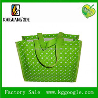 2014 Eco-friendly reusable pp nonwoven shopping bags/printed green shopping bags