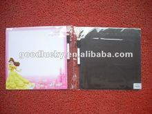 2012 fashion Snow White magnetic board with pen for children