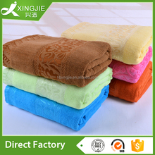 China factory luxury velvet cut-pile bath terry towel bath sheet