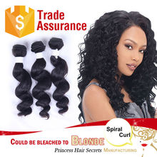 Virgin Remy Hair For Cheap, Brazilian Hair Remy Loose Curl Weaving 99j