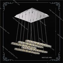 2015 hot sale beautiful modern lighting 40W led crystal pendant lamp/light fixture