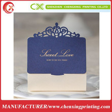 Royal Theme Cream & Blue Chocolate Box Wedding Candy Gifts Favors Packing Boxes