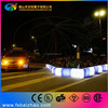 led lighted building curb stone