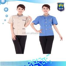 Popular design uniform for bellboy uniform for hotel, salon uniforms and workwear