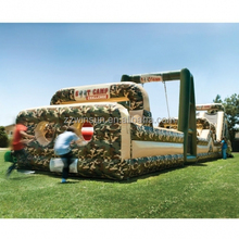 EN14960 top quality commercial boot camp inflatable obstacle course