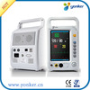 free shipping Multi parameter Patient Monitor 7 inch Touch Screen ECG NIBP SpO2 Pulse Rate Respiration Temperature