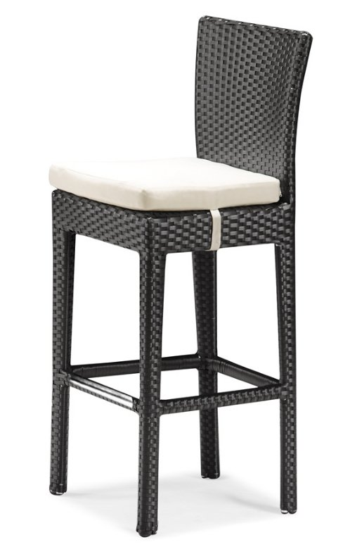 Wicker look Bar Stool W Upholstered Seat Cushion Buy  : Wicker Look Bar Stool w Upholstered Seat from alibaba.com size 488 x 777 jpeg 45kB