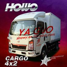 van style HOWO Cargo 371hp