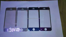 Tempered Glass 3D Electroplating Glass Film For iPhone 5/6/6P, for iphone glass film bulk in stock for your purchase