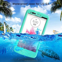 High Quality Waterproof Durable Shockproof Dirt Snow Cell Phone Case For LG G3