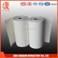 Fire resistant ceramic fiber lining paper