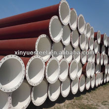 ASTM A53 Gr.B SSAW Fluid pipes