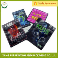 Cheap Flexible Packaging 2g darkness herbal incense bag