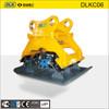 Spare parts rubber plate compactor soil compactor plate compactor for excavator