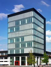fantastic heat-insulation contemporary structural glass facade, aluminum and glass facade for office buildings