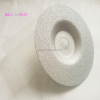 """4"""" x 5/8"""" Diamond BRAZED Grinding Cutting Disc Wheel convex For Angle Grinder"""