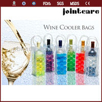 Colorful cooling bottle wine cooler bags