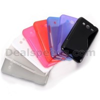S Shape Soft TPU Back Cover Case for Samsung Galaxy Core 2 G355H G3558 G3559 G3556D