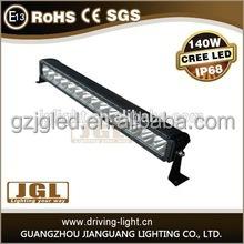 CREE work light bar! single row flood cree led bar lights 80w deep reflector led lighting bar for all vehicles