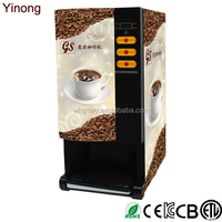 Yinong GBD103 Chinese made commercial fully automatic Korean coffee vending machine with 3 hot flavors