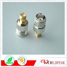 TNC Female flange mount 4 wholes for RG316 cable RF coax connector