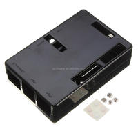 Black ABS Case Box Enclosure 9.5 X 6.5 X 2.5cm For Raspberry Pi B+ (Plus)