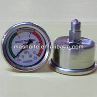 full stainless steel anti shocking hydraulic oil pressure gauges