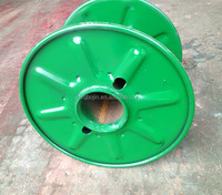 Steel cable drum roller