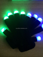 colorful flashing gloves LED gloves with rave light
