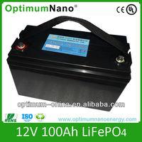 12v 100ah deep cycle LiFePO4 battery