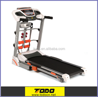 On sale CE approved DC motor foldable treadmill/motorized treadmill