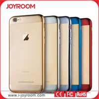 JOYROOM custom Platinum silicone Case for iphone 6 case tpu