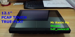 flat panel touch screen 12.1-inch tft lcd monitor for indoor atm machine / cash dispenser terminal