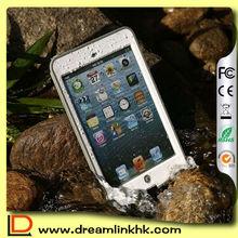 Fashion White Color Full Sealed Waterproof Case for iPad Mini 1 2 3